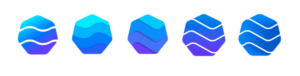 Heptagon Logo Iterations