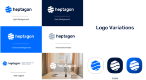 Logo Variations - Heptagon Technology