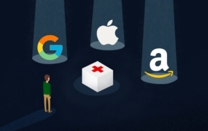 tech giants - Apple, Google & Amazon eating into the healtcare industry