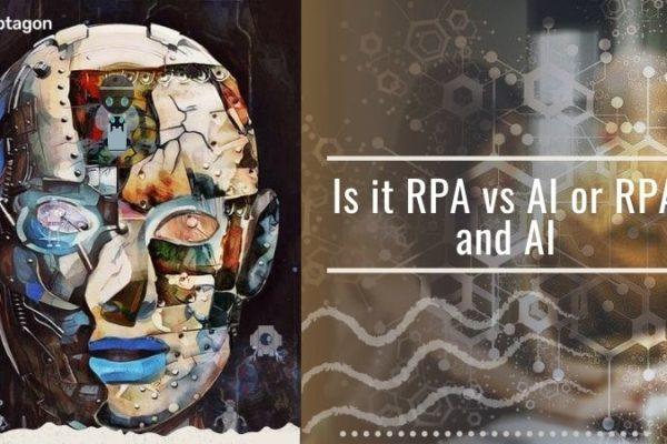 RPA vs AI or RPA and AI