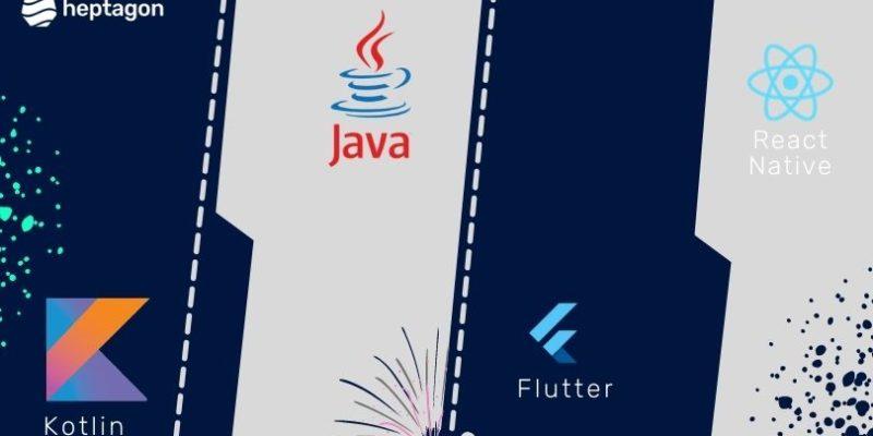 Kotlin Vs. Java Vs. Flutter Vs. React Native