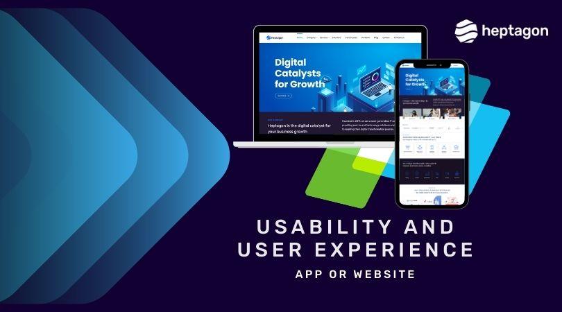 App Or Website Optimized Customer Experience